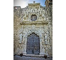 The Reign of Spain - Ultra-baroque in Texas Photographic Print