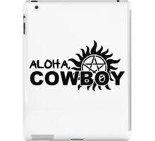 Aloha, Cowboy--SPN Season 10 Gag Reel iPad Case/Skin