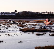 The Old Harbour, Barry, Wales, UK by Christopher Ware