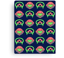 Metroid Pattern Canvas Print