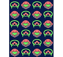 Metroid Pattern Photographic Print