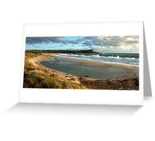 Big seas at Red Bluff - Kalbarri Greeting Card
