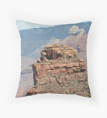Battleship Rock Throw Pillow
