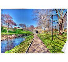 Along River Herring Poster
