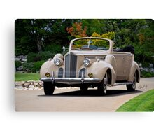 1940 Packard 120 Convertible Sedan I Canvas Print