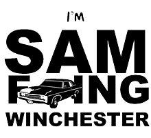 Sam F---ing Winchester 2 Photographic Print
