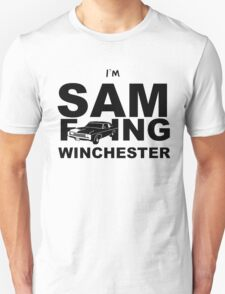 Sam F---ing Winchester 2 T-Shirt