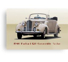 1940 Packard 120 Convertible Sedan II Metal Print