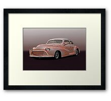 1946 Oldsmobile 'Custom' Sedanette Framed Print