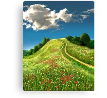 The Rise of Spring 1 Canvas Print