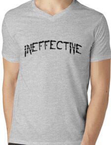 INEFFECTIVE. Cool Typography Design. Mens V-Neck T-Shirt