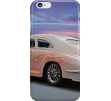 1946 Oldsmobile 'Custom' Sedanette 3Q Rear View iPhone Case/Skin