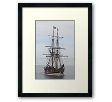 """Lady Washington"" Framed Print"