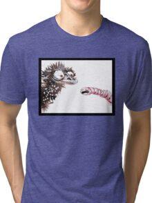 Emu and worm1 Tri-blend T-Shirt