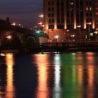 The Rock River at Night by Sara Johnson