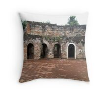 Ancient Convent Ruin, Antigua, Guatemala Throw Pillow