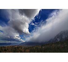 Eastern Sierra Storm Photographic Print