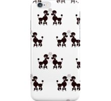 French Poodles iPhone Case/Skin