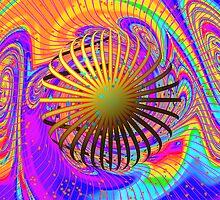 Carnival Kaleidoscope  by Elaine Bawden