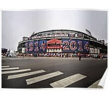 Wrigley Field 100th Anniversary Poster