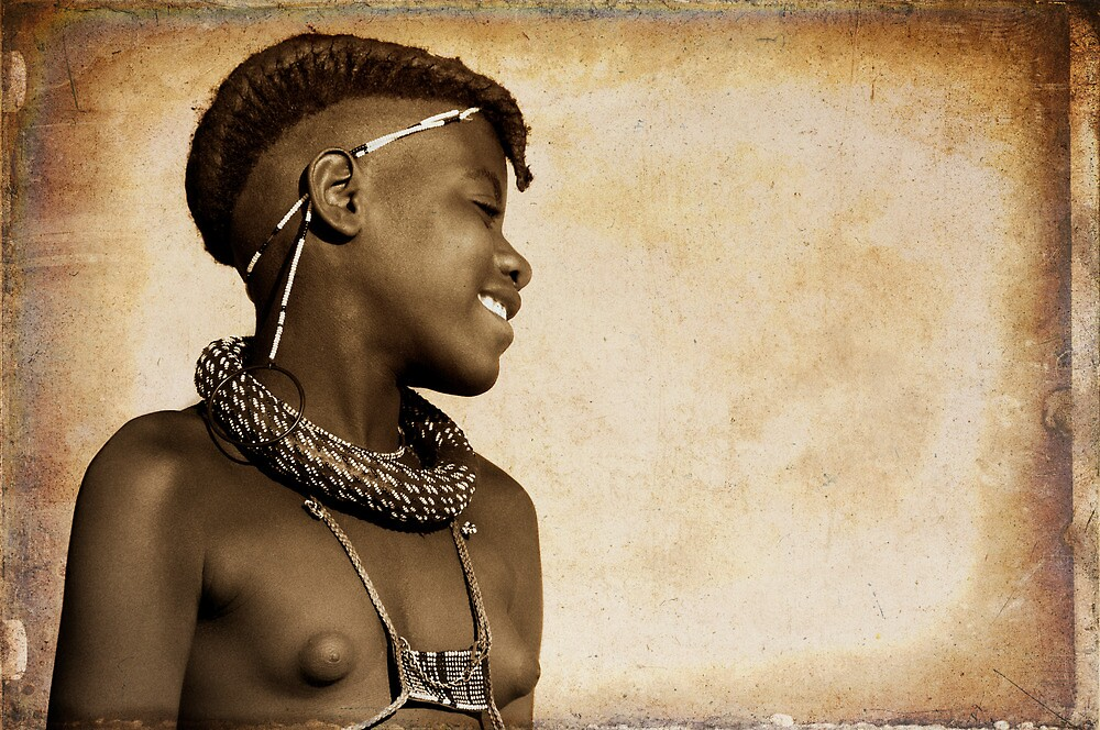Himba Maiden | Namibia by Olwen Evans