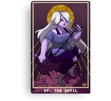Tarot of the Universe - The Devil Canvas Print