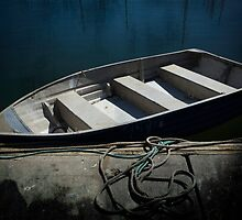 Little Blue Boat - All Alone by Clare Colins