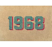 Vintage 1968 Photographic Print