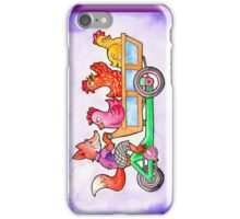 The Fox and Hens iPhone Case/Skin