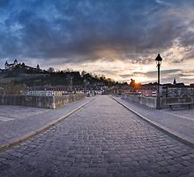 Würzburg - Panoramic View by Michael Breitung