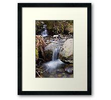 A Gentle Flow Framed Print