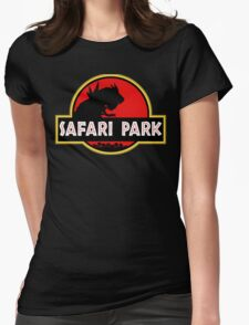 Safari Park.  Womens Fitted T-Shirt