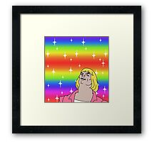He-Man Gay Pride Framed Print