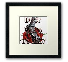 Drop Dead Lovely Framed Print