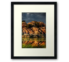 Reflective Layers Framed Print
