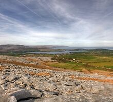 Corker Hill View in  The Burren by John Quinn