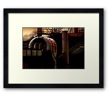 Heavy Metal 1 - The Heat Is On Framed Print
