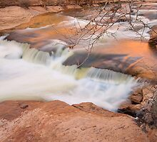 Slide Rock Panorama-1 by Zane Paxton