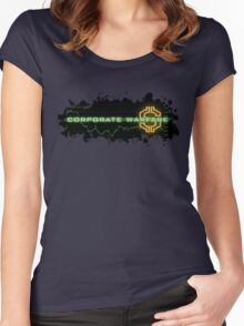 Corporate Warfare $ Women's Fitted Scoop T-Shirt