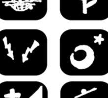 menu for all b Sticker