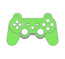 Controller - Green Photographic Print