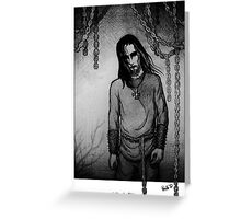 Eblis in Chains Greeting Card
