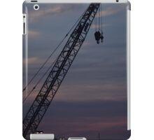 Crane at Sunset iPad Case/Skin