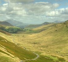The Newlands Valley by Jamie  Green