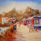 Another Folkestone harbour by Beatrice Cloake Pasquier