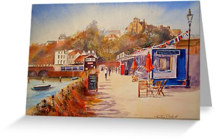 Another Folkestone harbour by Beatrice Cloake