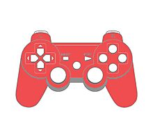 Red - Controller Photographic Print
