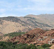 Village in Atlas Mountains 3 by rhallam