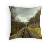 The Next Train Is In 10 Minutes... Throw Pillow