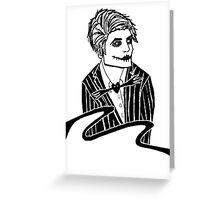 Live Action Jack Skellington Greeting Card